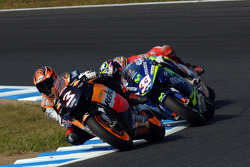 Max Biaggi and Marco Melandri