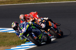 Marco Melandri and Max Biaggi