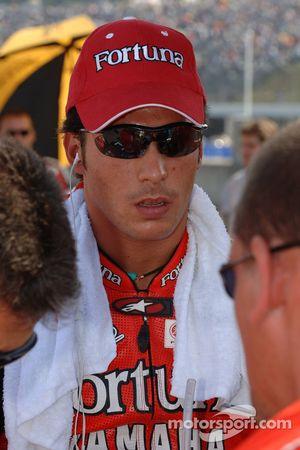Тони Элиас на стартовой решетке