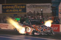 Gary Scelzi brilliant header flames put him into the lead on Friday qualifying