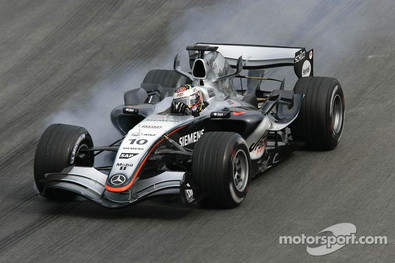 2005 - GP du Brésil (F1, McLaren)