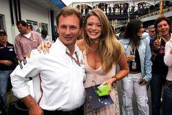 Christian Horner ve Kazanan, Formula Unas girls