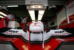 Toyota front wing