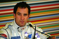 Post-qualifying persconferentie: Matt Halliday
