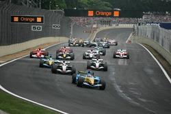 Start: Fernando Alonso, Renault