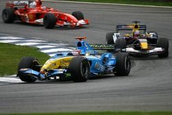 Fernando Alonso and Christian Klien