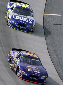 Kurt Busch y Jimmie Johnson