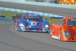 #7 Tuttle Team Racing/ SAMAX Pontiac Riley: Brian Tuttle, Bas Leinders, #2 CITGO - Howard - Boss Motorsports Pontiac Crawford: Andy Wallace, Milka Duno