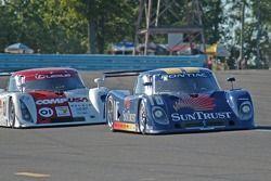 #10 SunTrust Racing Pontiac Riley: Wayne Taylor, Max Angelelli, #01 CompUSA Chip Ganassi with Felix Sabates Lexus Riley: Luis Diaz, Scott Pruett