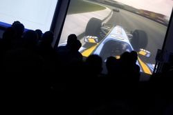 World championship celebrations at Enstone with Renault F1 team