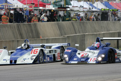 Start: #16 Dyson Racing Team Lola EX257 AER: James Weaver, Butch Leitzinger, Andy Wallace takes the