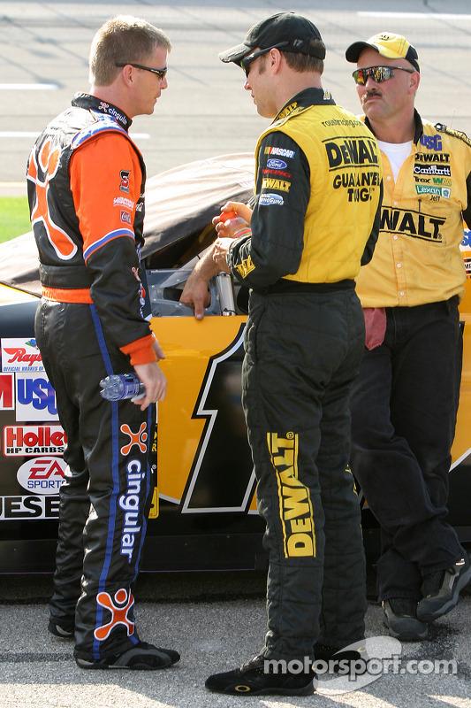 Jeff Burton y Matt Kenseth
