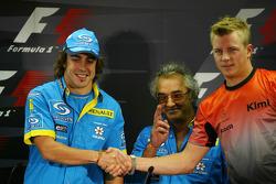 Thursday FIA press conference: Fernando Alonso, Flavio Briatore and Kimi Raikkonen