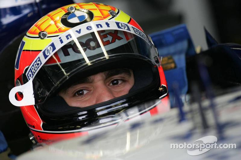 2005 год. Антонио Пиццония. 5 гонок в Williams