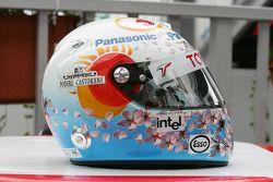 Helmet, Jarno Trulli for Japanese GP