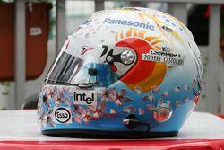 Шлем Ярно Трулли для Гран При Японии