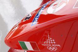 Torino 2006 logo, Ferrari F2005