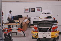 Visit at Synergy race shop at VIR