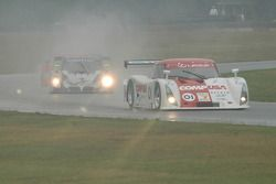 #01 CompUSA Chip Ganassi with Felix Sabates Lexus Riley: Luis Diaz, Scott Pruett, #66 Krohn Racing/