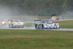 #67 Krohn Racing/ TRG Pontiac Riley: Tracy Krohn, Nic Jonsson, #38 TPC Racing Porsche GT3 Cup: John