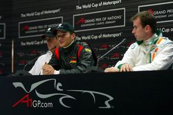 Press conference: Adrian Sutil, Timo Scheider and Ralph Firman