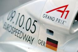 A1 Team Germany engine cover