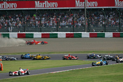 Ralf Schumacher leads the field