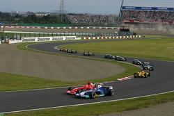 Batalla de Michael Schumacher y Jacques Villeneuve
