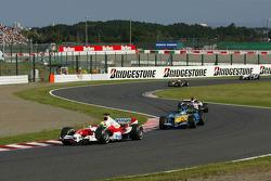 Ralf Schumacher lidera a Giancarlo Fisichella