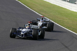 Mark Webber y Kimi Raikkonen