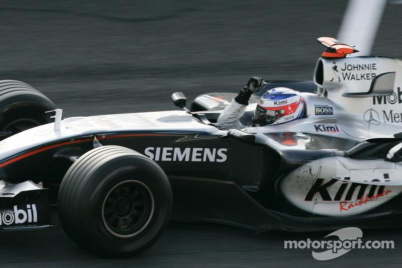 Kimi Räikkönen - 17. rajthely