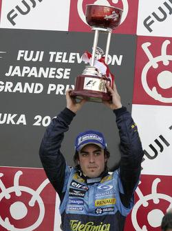 Podio: tercer lugar Fernando Alonso