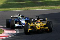 Narain Karthikeyan y Felipe Massa