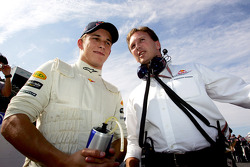 Christian Klien y Christian Horner