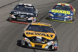Matt Kenseth, Kurt Busch and Greg Biffle