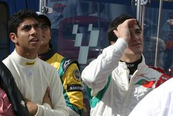 Salvador Duran, Nelson A. Piquet, Alvaro Parente