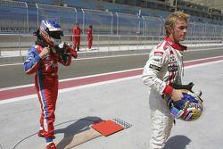 Heikki Kovalainen et Nico Rosberg