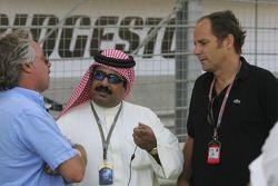 Keke Rosberg and Gerhard Berger