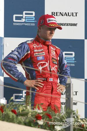 Podium : Heikki Kovalainen