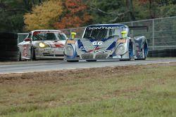 #66 Krohn Racing/ TRG Pontiac Riley: Jorg Bergmeister, Max Papis, #36 TPC Racing Porsche GT3 Cup: Mi