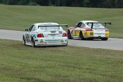 #32 Horizon Motorsports LLC Pontiac GTO: Mike Weinberg, Frank Del Vecchio, Todd Hanson, #80 Synergy Racing Porsche GT3 Cup: David Murry, Craig Stanton