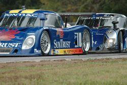 #10 SunTrust Racing Pontiac Riley: Wayne Taylor, Max Angelelli, #19 Finlay Motorsports BMW Riley: Mi