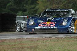 #58 Red Bull/ Brumos Racing Porsche Fabcar: David Donohue, Darren Law, #05 Sigalsport Porsche GT3 Cu