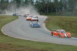 #7 Tuttle Team Racing/ SAMAX Pontiac Riley: Brian Tuttle, #31 Margraf Racing Pontiac Riley: Skip Cummins, Tony Ave