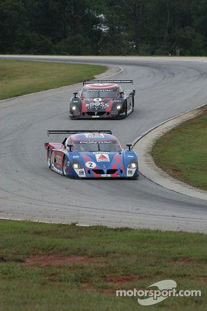 #2 CITGO - Howard - Boss Motorsports Pontiac Crawford: Andy Wallace, Milka Duno, #4 Howard - Boss Motorsports Pontiac Crawford: Butch Leitzinger, Elliott Forbes-Robinson
