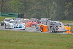 Daytona Prototypes race start