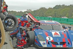 No. 2 pit stop