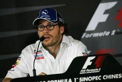 Conférence de presse de la FIA : Jacques Villeneuve