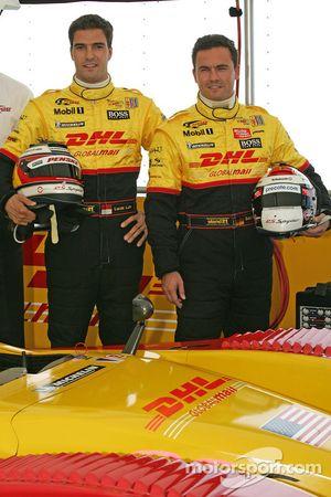 Presentation of the Penske Motorsports Porsche RS Spyder LMP2: Lucas Luhr and Sascha Maassen