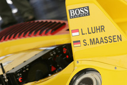 Presentation of the Penske Motorsports Porsche RS Spyder LMP2: detail